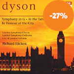 Produktbilde for Dyson: Symphony in G; At the Tabard Inn; In Honour of the City (CD)