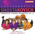 Shostakovich: Piano Quintet; String Quartets Nos 1 and 12 (CD)
