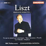 Liszt: Orchestral Works, Vol 1 (CD)
