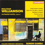 Williamson: Orchestral Works, Vol 1 (CD)