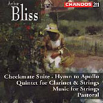 Bliss: Orchestral & Vocal Works (CD)