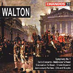 Walton: Orchestral Works (CD)