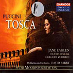 Puccini: Tosca (in English) (CD)