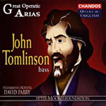 Great Operatic Arias - John Tomlinson (CD)