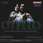 Verdi: Otello (sung in English) (CD)