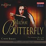 Puccini: Madam Butterfly (sung in English) (CD)