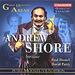 Andrew Shore sings Great Operatic Arias (CD)