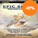 Epic Brass: British Music for Brass Band (CD)