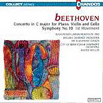 Beethoven: Triple Concerto; Symphony No. 10 - lst movement (CD)