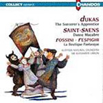 Dukas; Rossini; Saint-Saëns: Orchestral works (CD)