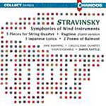 Stravinsky: Symphonies of Wind Instruments (CD)