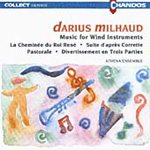Milhaud: Music for Wind Instruments (CD)