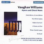 Vaughan Williams: Hymns & Choral Music (CD)