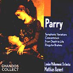 Parry: Orchestra works (CD)