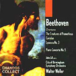 Beethoven: Piano Concerto No.5; Overtures (CD)
