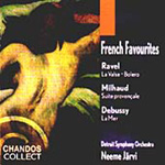 French Favourites - Ravel; Milhaud; Debussy (CD)