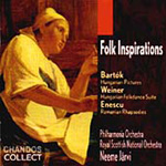 Folk Inspirations - Bart0k; Weiner; Enescu (CD)