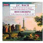 J.C. Bach & Boccherini: Cello Concertos (CD)