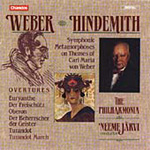 Hindemith & Weber: Orchestral Works (CD)