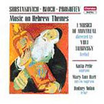 Music on Hebrew Themes (CD)