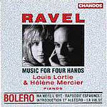 Ravel: Works for Piano Duet (CD)