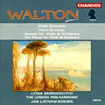 Walton: Works for Violin and Orchestra (CD)