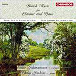 British Music for Clarinet and Piano (CD)