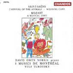 Mozart & Saint-Saëns: Orchestral Works (CD)
