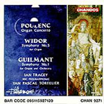 Poulenc/Guilmant/Widor: Organ Works (CD)
