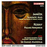 Janácek/Kodály: Choral Works (CD)