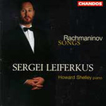 Rachmaninov: Songs (CD)