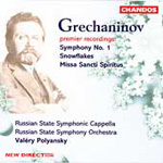 Grechaninov: Choral & Orchestral Works (CD)