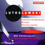 Lutoslawski: Orchestral Works (CD)