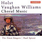 Holst/Vaughan Williams: Choral Music (CD)