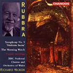 Rubbra: Symphony No 9 & The Morning Watch (CD)