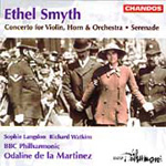 Smyth: Serenade in D; Concerto for Violin and Horn (CD)
