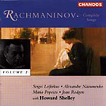 Rachmaninov: Songs, Vol. 2 (CD)