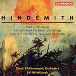Hindemith: Mathis der Maler, etc (CD)