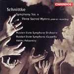Schnittke: Three Sacred Hymns;Symphony No 4 (CD)