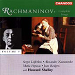 Produktbilde for Rachmaninov: Songs, Vol. 3 (CD)
