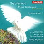 Grechaninov: Orchestral & Vocal Works (CD)