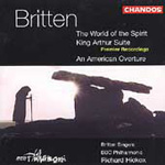 Britten: The World of the Spirit etc (CD)