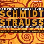 Schmidt: Symphony No 4 etc (CD)