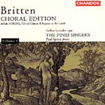 Britten: Choral Edition, Vol. 1 (CD)