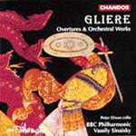 Glière: Orchestral Works (CD)