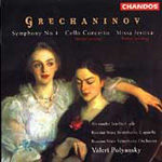 Grechaninov: Symphony No 4; Cello Concerto;Missa festiva (CD)