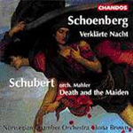 Schoenberg/Schubert: Works for Chamber Orchestra (CD)