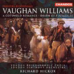 Vaughan Williams: Cotswold Romance; Death of Tintagiles (CD)