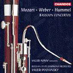 Produktbilde for Hummel/Mozart/Weber: Bassoon Concertos (CD)