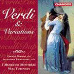 Verdi: String Quartet, etc (CD)